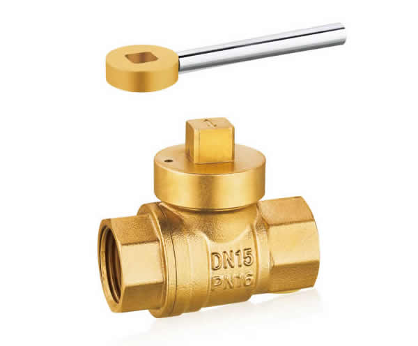 黄铜磁性锁式球阀
