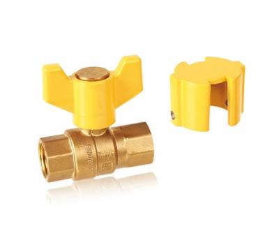 黄铜提拉式双控内螺纹球阀