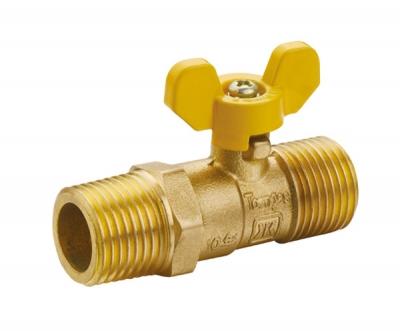 黄铜外螺纹波纹管球阀