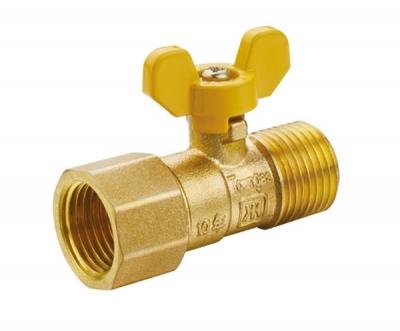 黄铜内外螺纹波纹管球阀