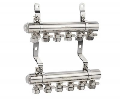 型材式球阀型分集水器